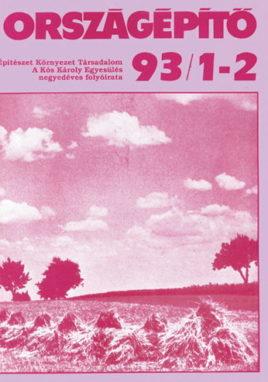 Országépítő 1993/I-II.
