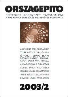 Országépítő 2003/II.