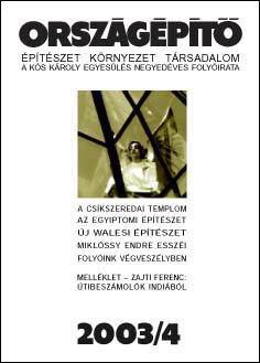 Országépítő 2003/IV.