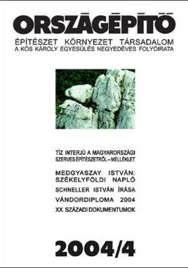 Országépítő 2004/IV.
