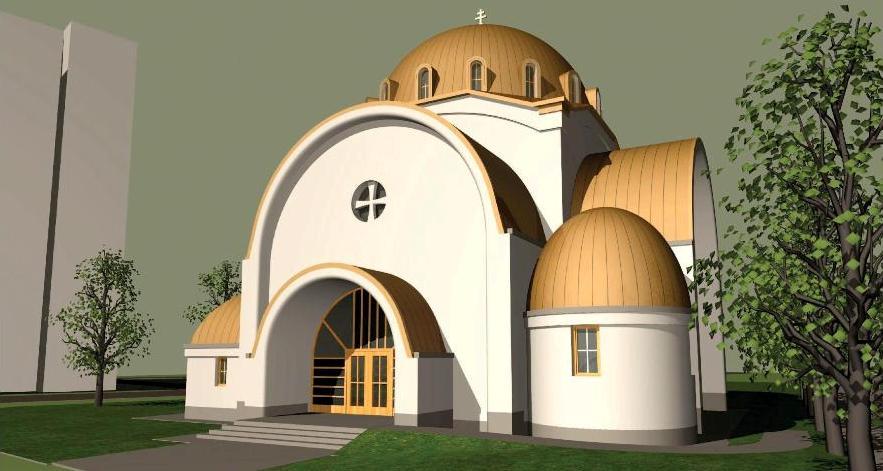 Debrecen, Tócoskert, Görögkatolikus templom terve