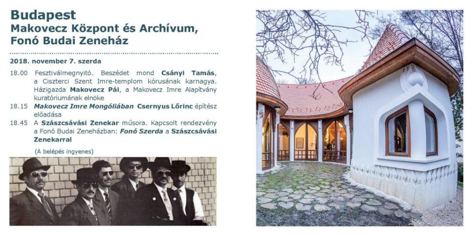 Héttorony fesztivál – Nyitóünnepség a Makovecz Házban