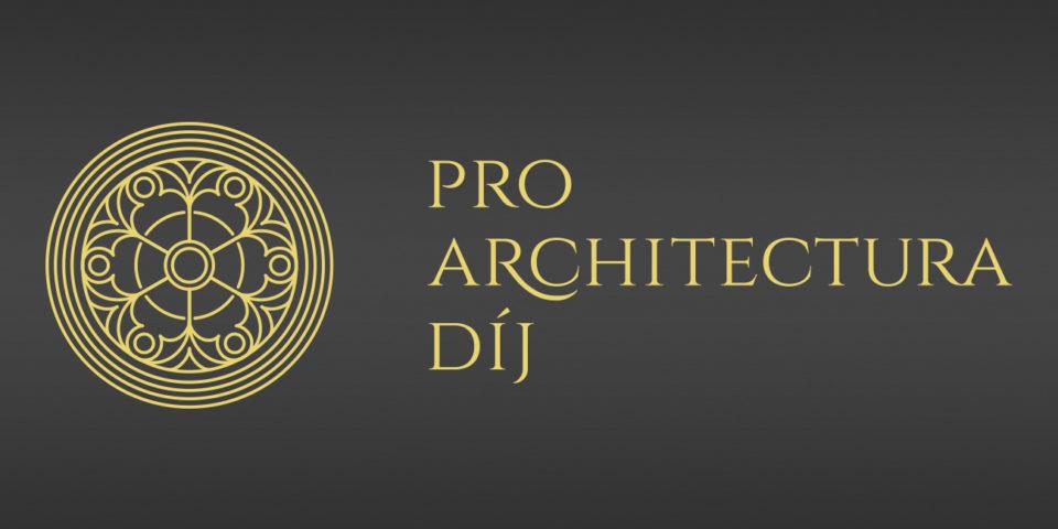 Megjelent a Pro Architectura díj 2019. évi hirdetménye