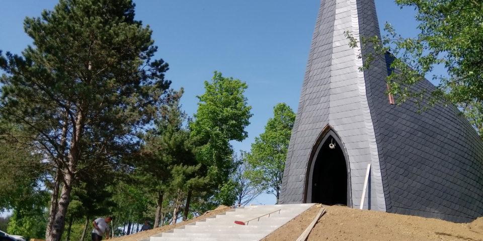 Elkészült a gébárti kápolna