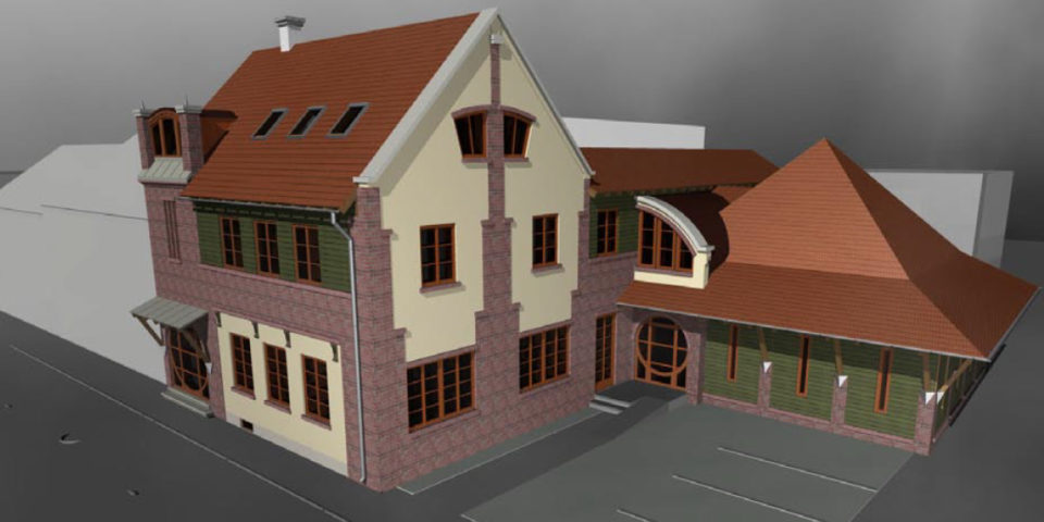 Litkei Tamás, Balogh-Nagy Lívia – Bowling klub és melléképülete, Szombathely
