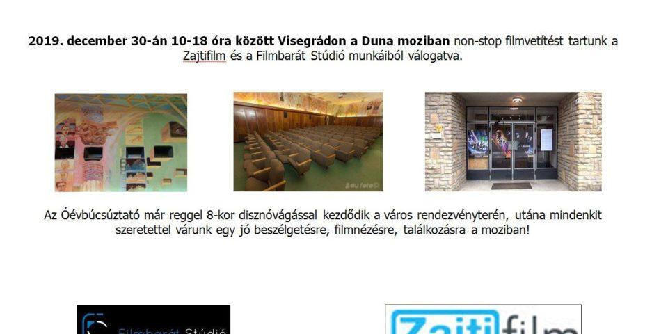 Filmvetítés Visegrádon