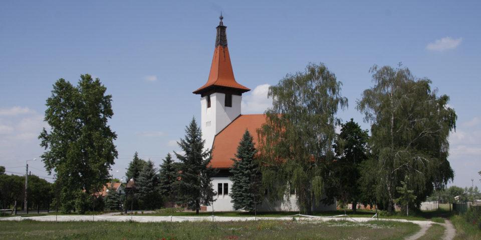 Református templom, Helvécia – Czégány Sándor