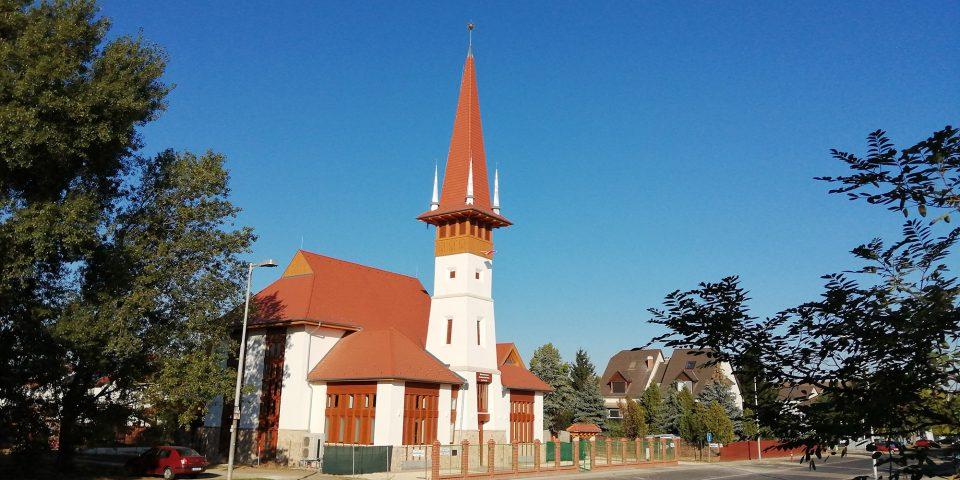 Református templom, Soroksár, Újtelep – Rüll Tamás